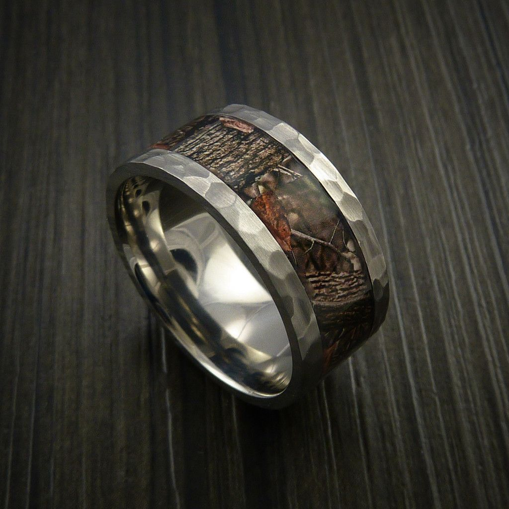 King's Camo Woodland Shadow and Titanium Ring Camo Style