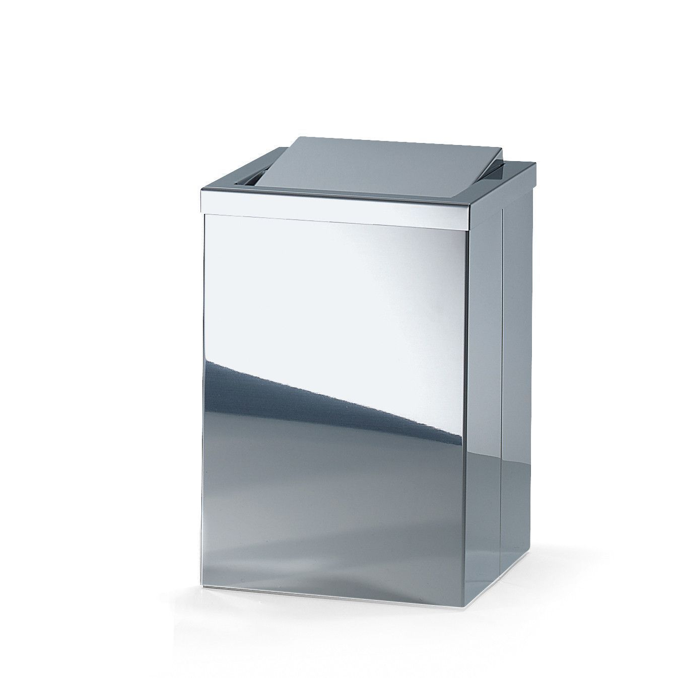Dw 113 Stainless Steel Trash Can Square Wastebasket W Swing Lid