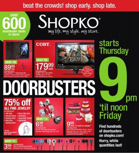 Shopko reveals Black Friday deals