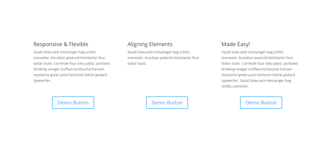 Why Is It So Hard To Vertical Align Stuff Not Anymore Divi Space Alignment Custom Wordpress Tutorials
