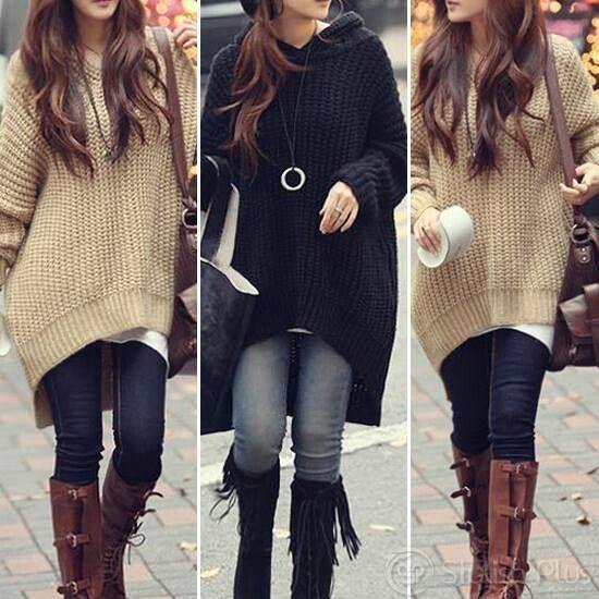 Big sweaters