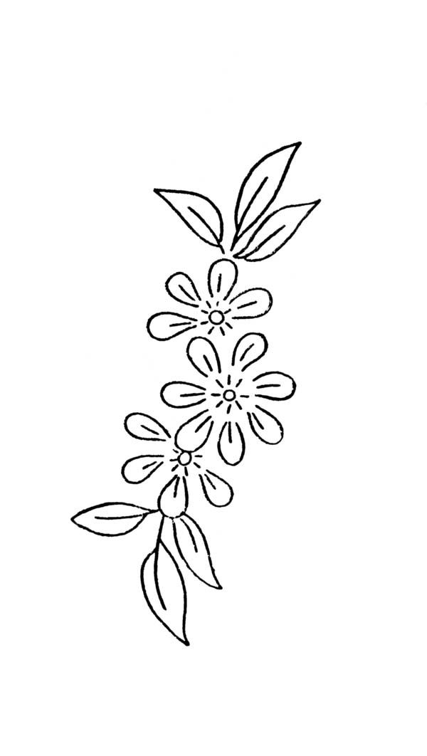 Free Hand Embroidery Flowers Patterns