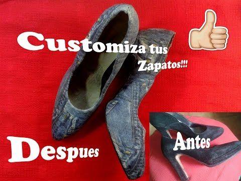 da4f99861aac Decorando Con Decoupage Mis Zapatos   2 - YouTube