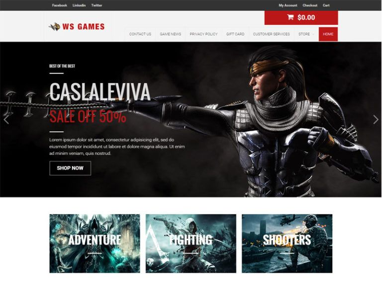 WS Games will be free recreations Woocommece WordPress theme that ...