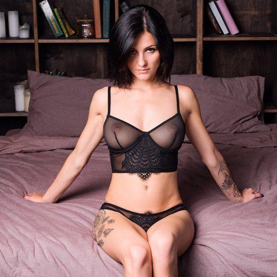 6dc746ef92 Sheer lingerie   Sexy lingerie   see through lingerie   mesh lingerie    gift for her