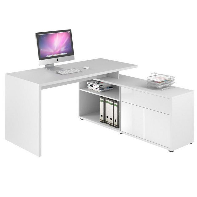 Otto Schreibtisch Weiß 2021