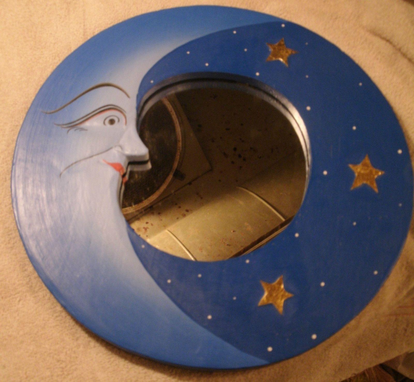 Moon mirror from bali