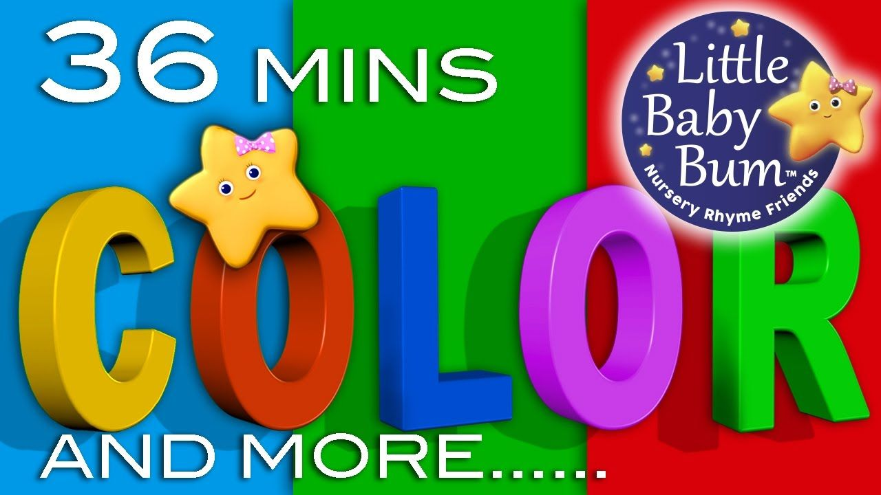 Color Songs | Plus More Children\'s Learning Songs | 36 Minutes ...