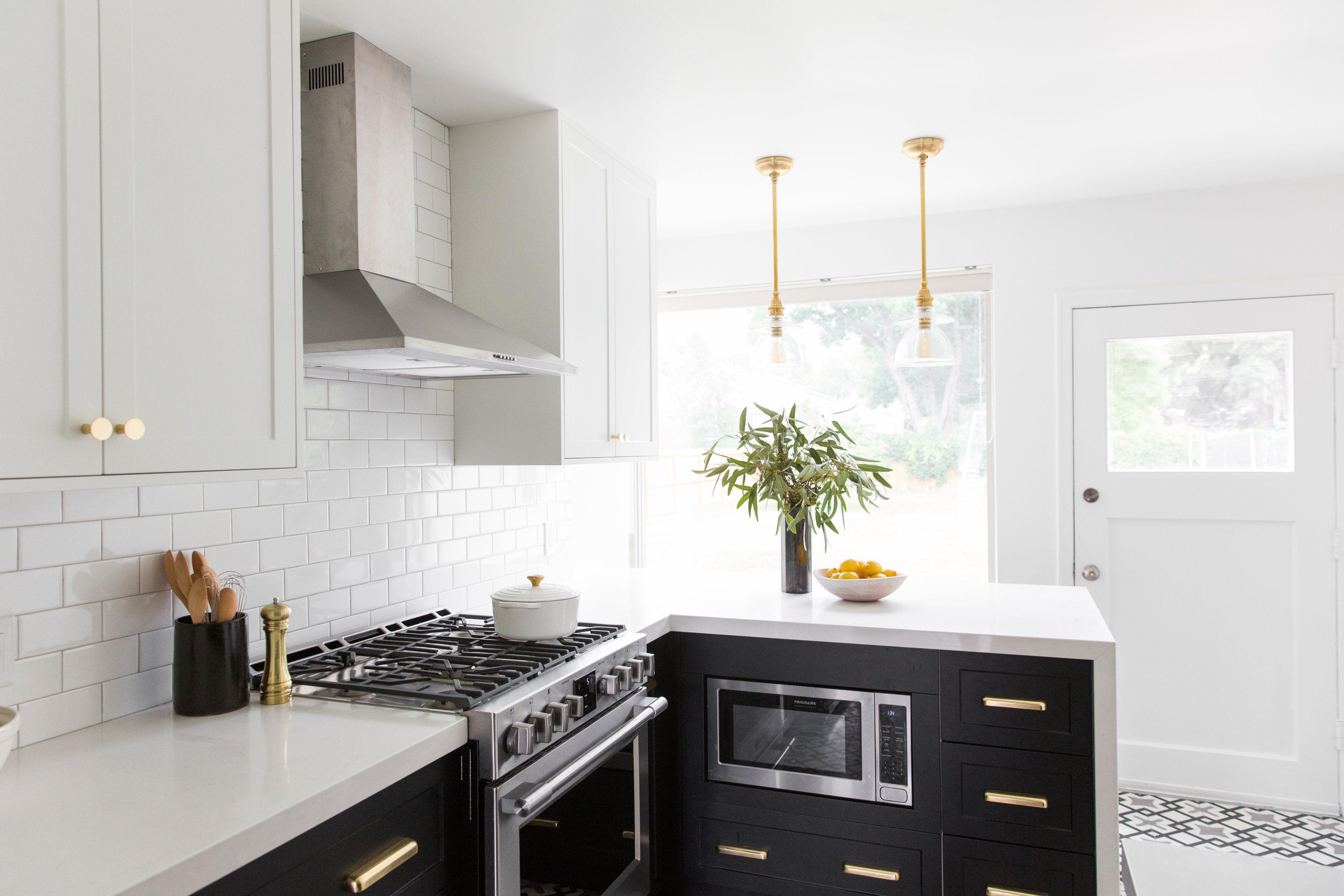 High Contrast Kitchen Remodel in Salt Lake City in 2020 ...