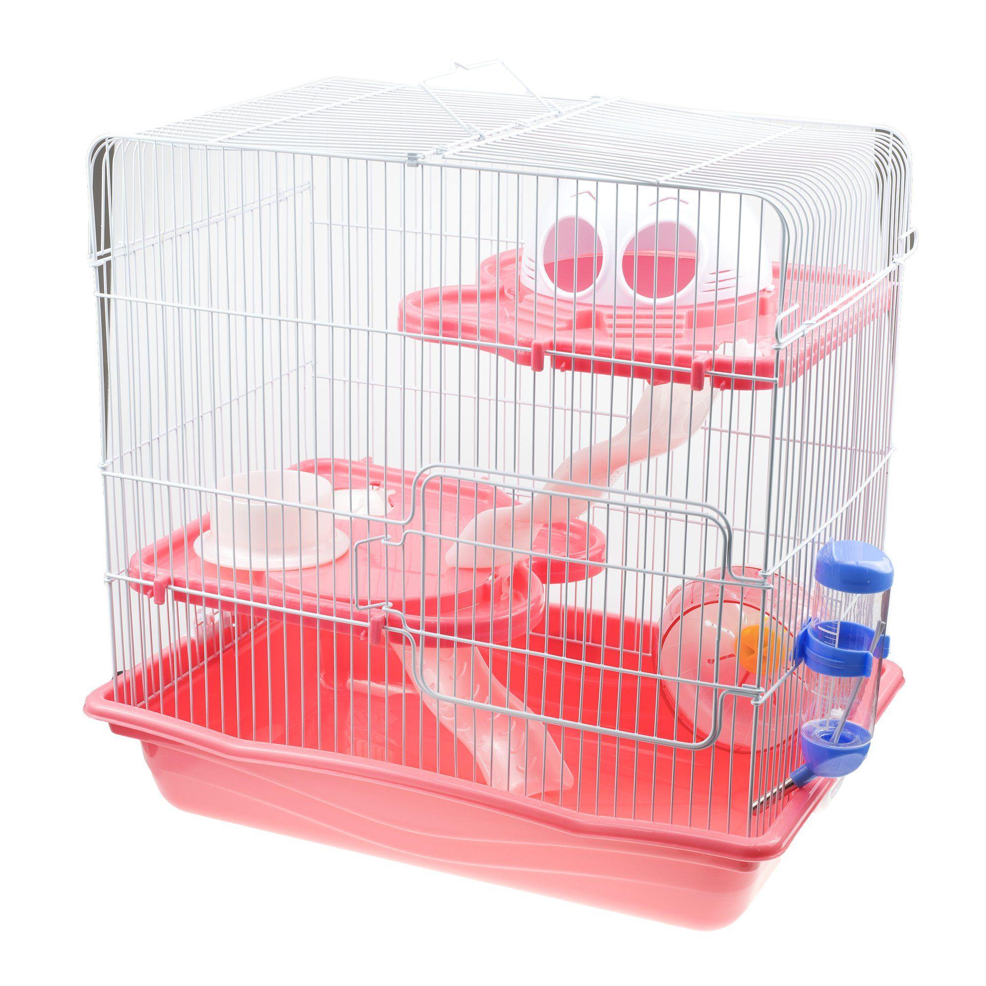 Gnb Pet Large Hamster Cage Diy Habitat 3level Habitat With Tunnels