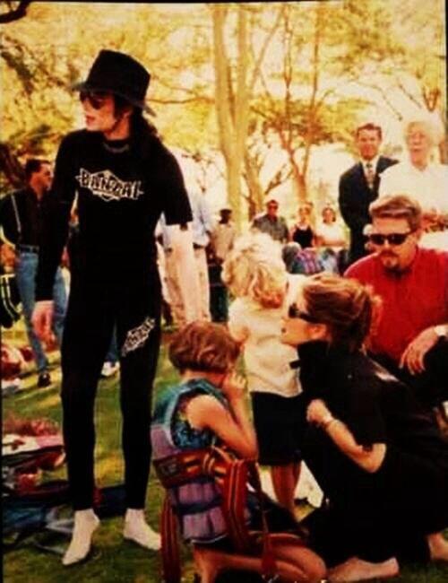 Michael Jackson, Lisa Marie Presley and kids Vacation ...