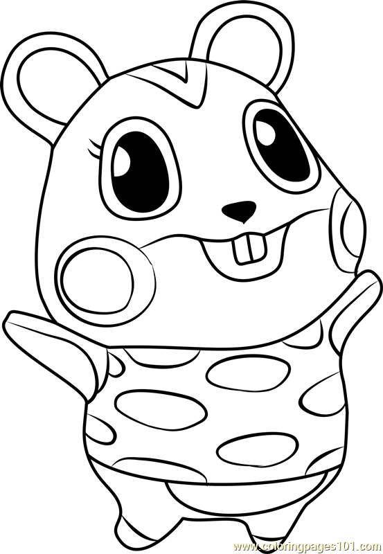Image Result For Animal Crossing Coloring Pages Animal Crossing Animal Crossing Qr Coloring Pages