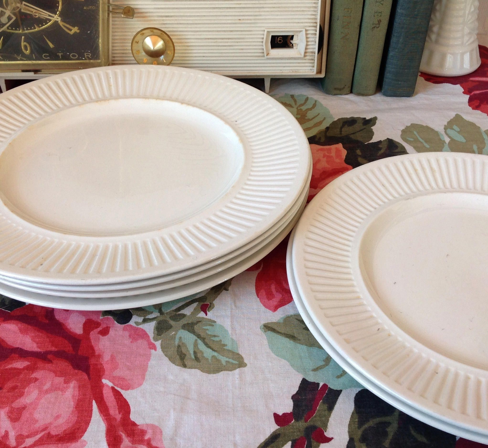 Vintage Ironstone Plates Athena Pattern by Johnson Brothers of ...