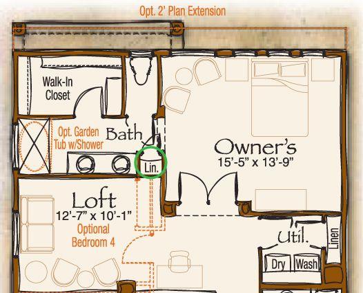 8 12 Bathroom Floor Plans: 30' X 18' Master Bedroom Plans