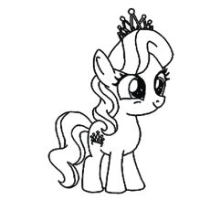 Top 55 Pony Coloring Pages Toddler Love Cartoon Series Revolves