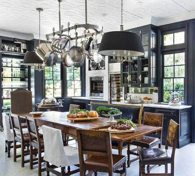 Midnight Blue Kitchen Island: On My Coffee Table: Windsor Smith Homefront