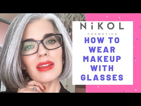 CLASSIC MAKEUP FOR GLASSES Nikol Johnson YouTube