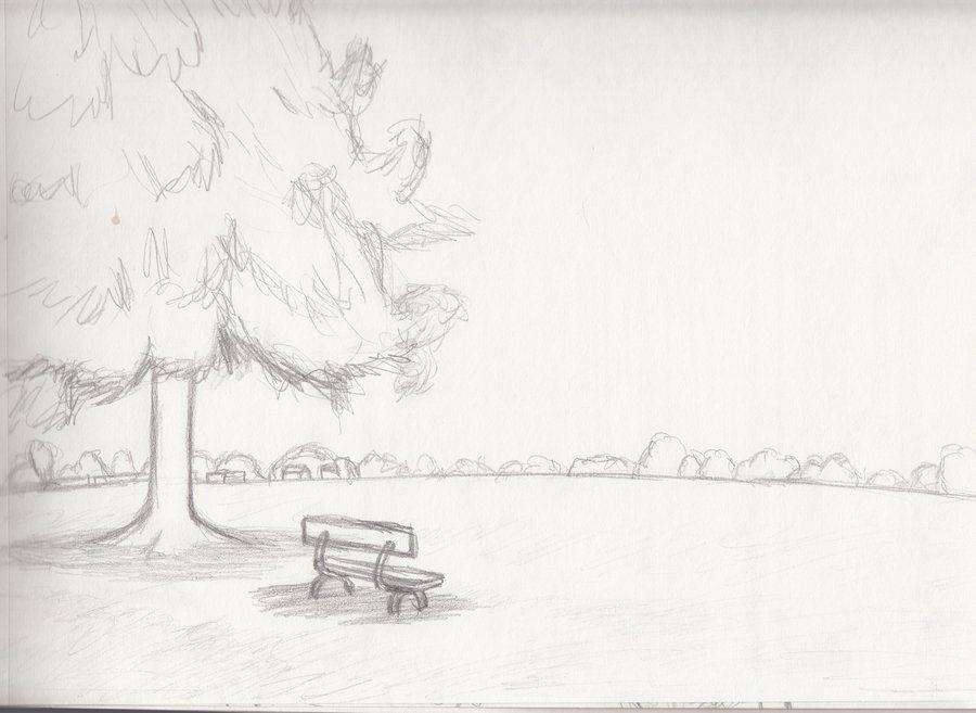 Easy landscapes sketches buscar con google sketches for Landscape pencil sketches simple
