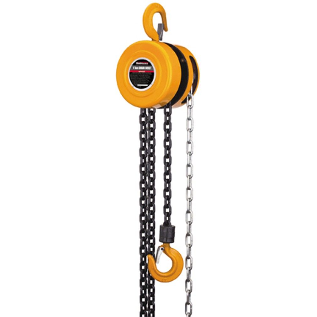 1 Ton Manual Chain Hoist Electric Hoists Steel Chain Hoist