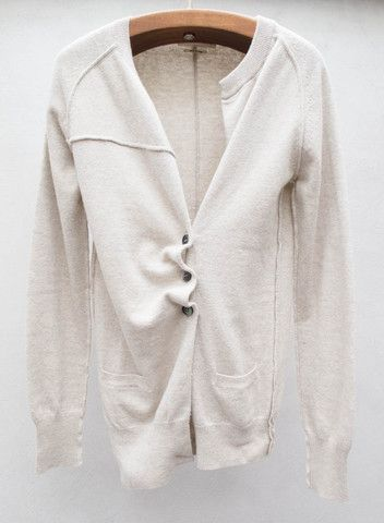 Chalk Taylor Cardigan by Isabel Marant Étoile $300 | shopheist.com