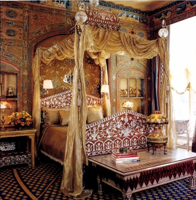 Captivating Ann Gettyu0027s Turkish Bedroom