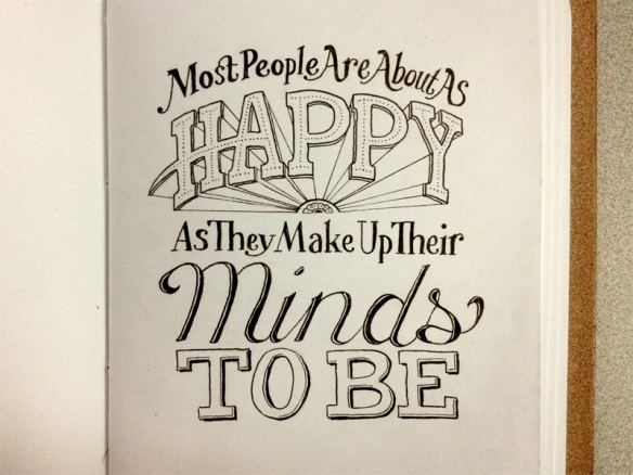 Hand Lettering Quotes | Chicquero