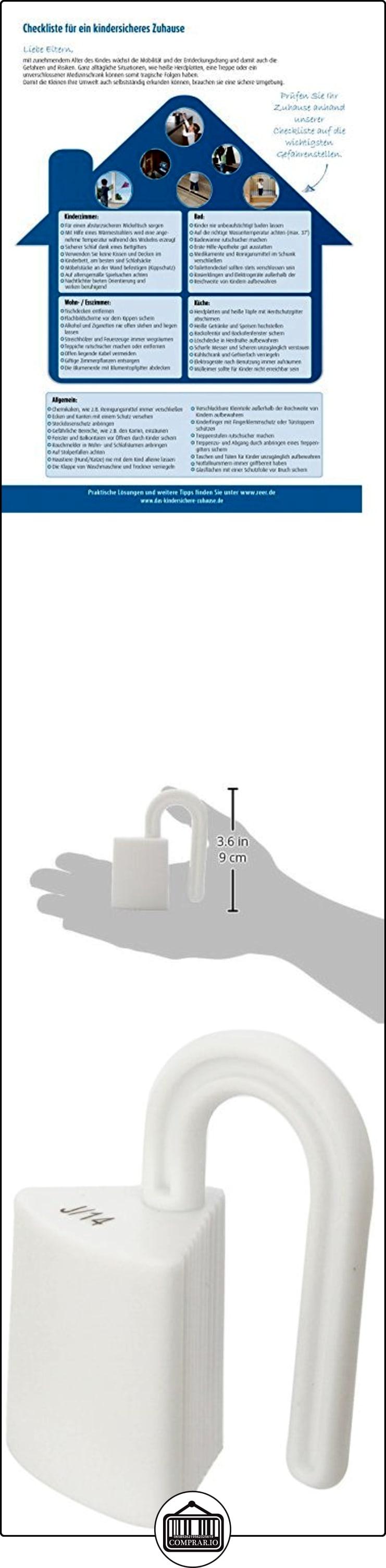 Protector para dedos para puertas y ventanas Reer 7207 2 art/ículos