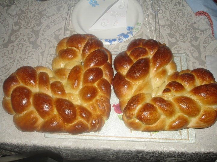 Love These Heart Shaped Challah