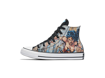 Converse Chuck Taylor All Star DC Comics Wonder Woman High Top Unisex Shoe bff9f78c9