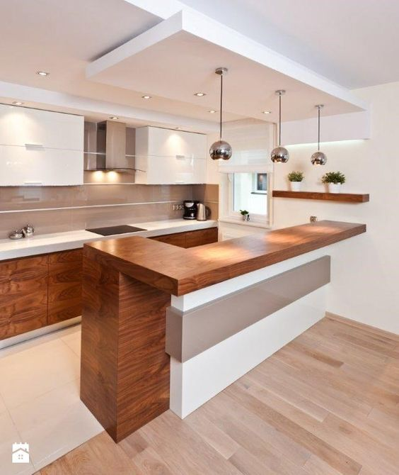 Cocinas con isla Kitchens, Ideas para and House
