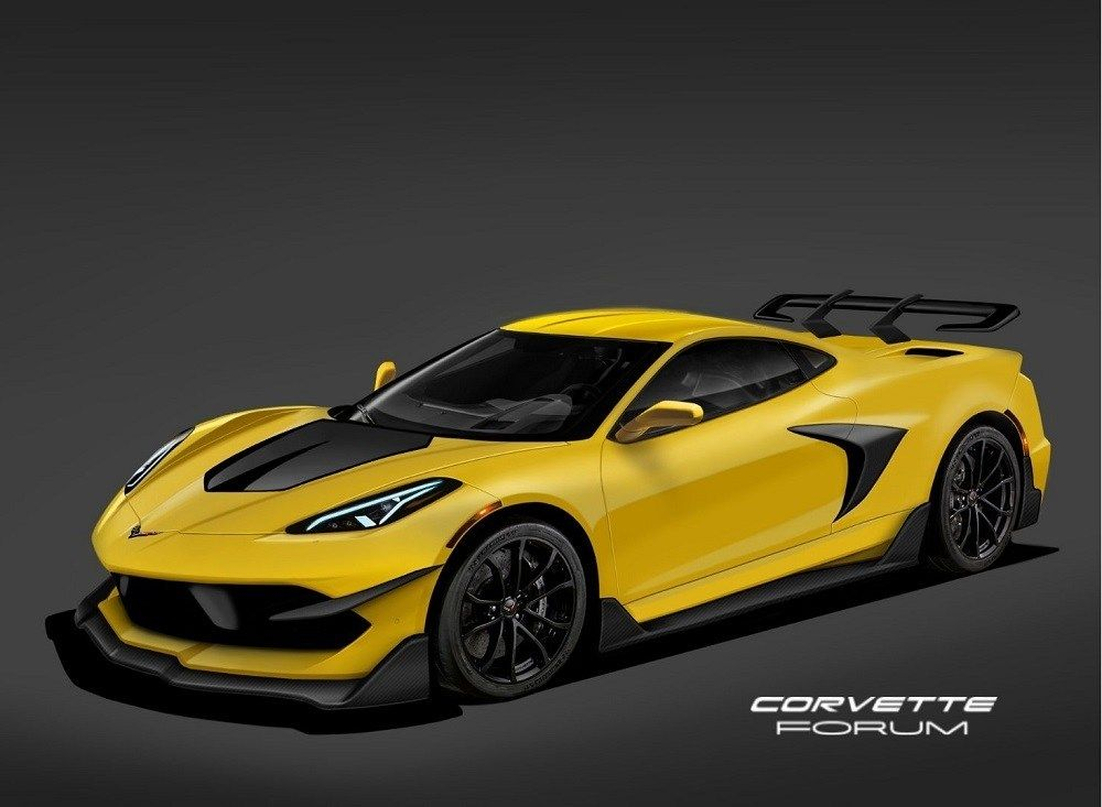 This Rendering Of The 2020 Chevy C8 Corvette Zr1 Represents Ford S Worst Nightmare Top Speed Chevrolet Corvette Chevy Corvette Corvette Zr1