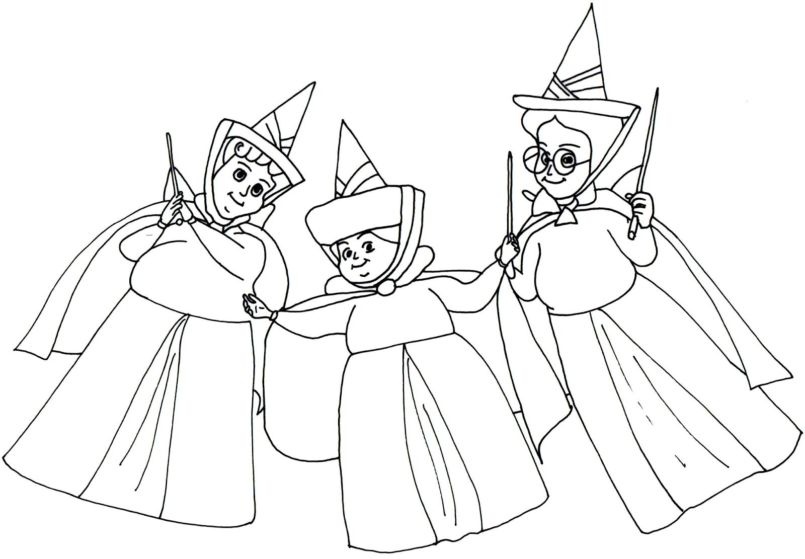 Sofia The First Coloring Pages Headmistresses at Royal Prep Sofia