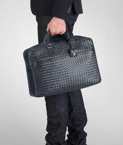 Light Tourmaline Intrecciato VN Briefcase - Men's Bottega Veneta® Business Bag - Shop at the Official Online Store