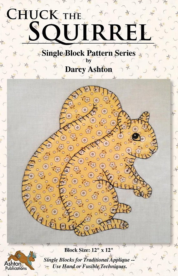 Darcy Ashton Hand Applique Tutorial and Bunny Applique Pattern