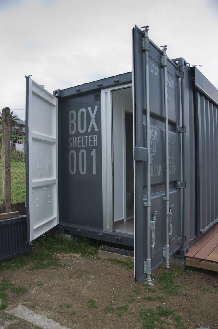 Container refugio en Galicia-España. Box-home  By myboxexperience.com