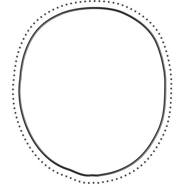 Yandeks Fotki Doodle Frame Circle Wall Art Designs