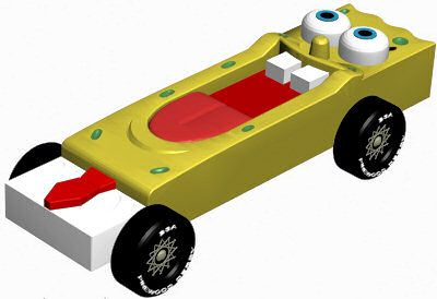 pinewood derby car ok this is great to bad the scout didnt make