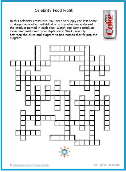 photo regarding Celebrity Crossword Printable titled Pin upon Crossword Puzzles for Grownups