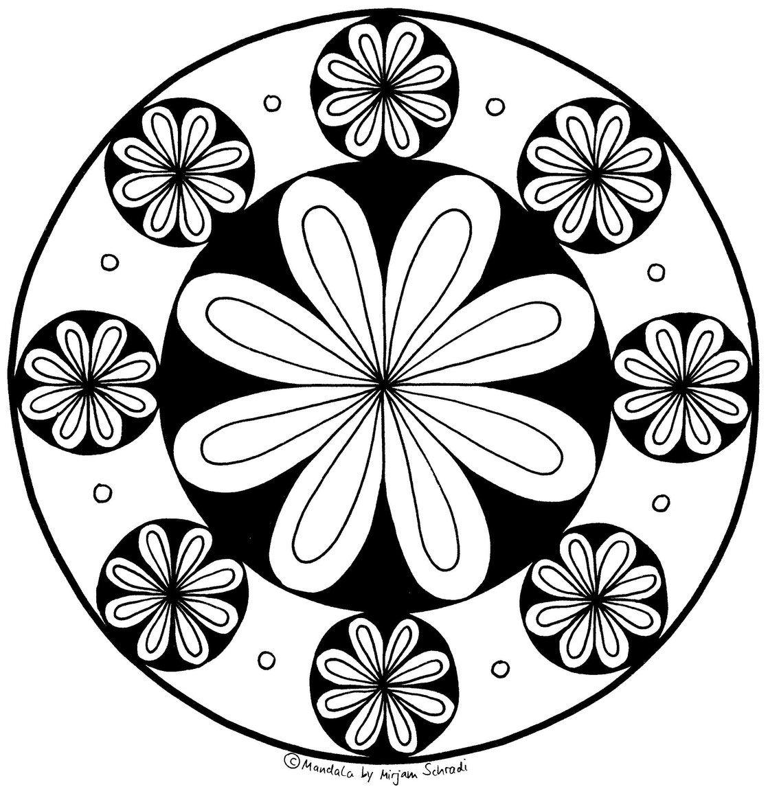 Pin Auf Mandalas Zum Ausdrucken Fur Kinder Erwachsene
