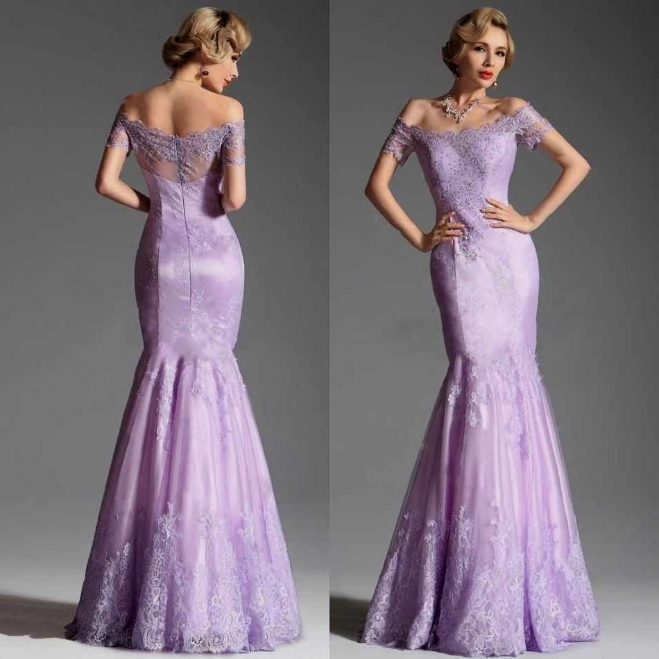 Lavender Wedding Dresses Lavender Lace Dress With Sleeves