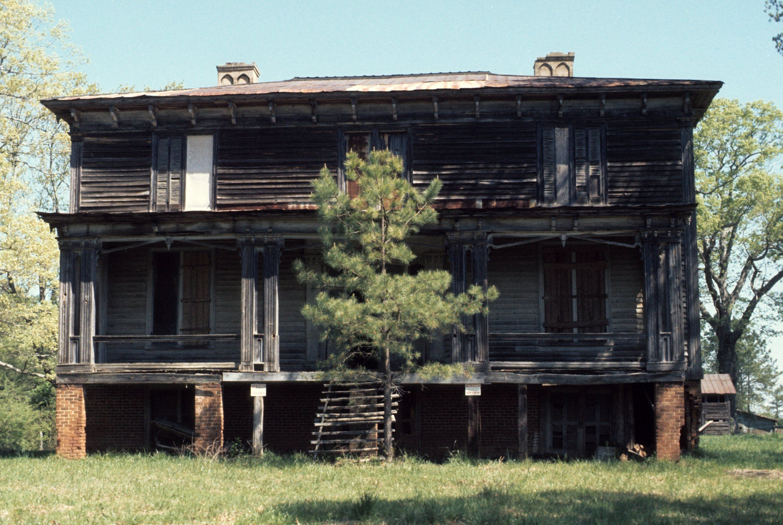 Front view, Archibald Taylor House, Franklin County, North