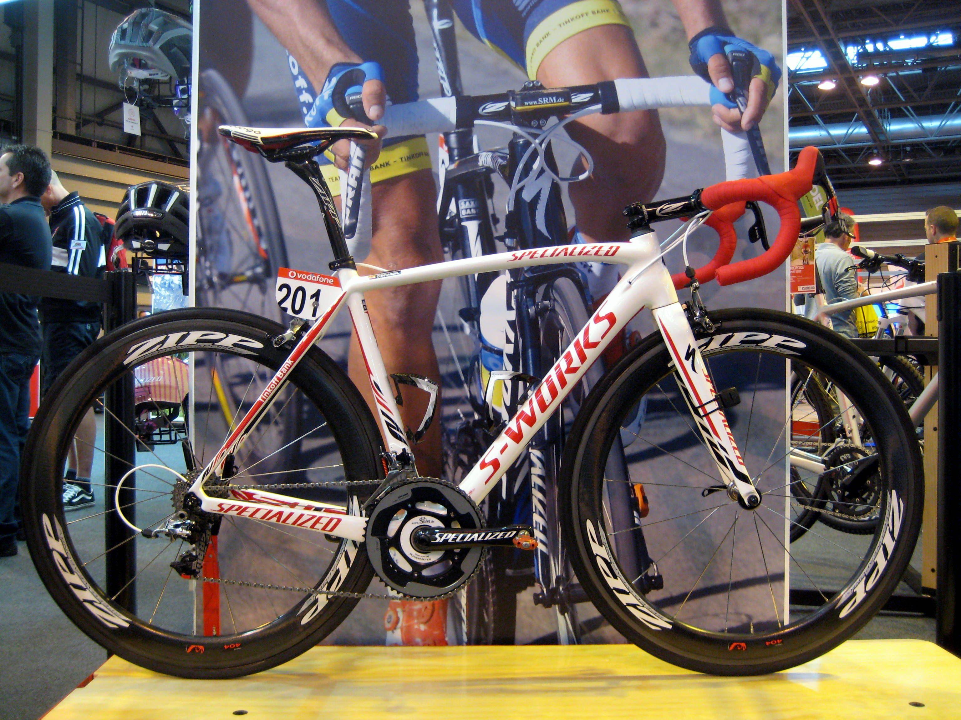 Alberto Contador Specialized Tarmac SL4 | Road Bikes | Pinterest