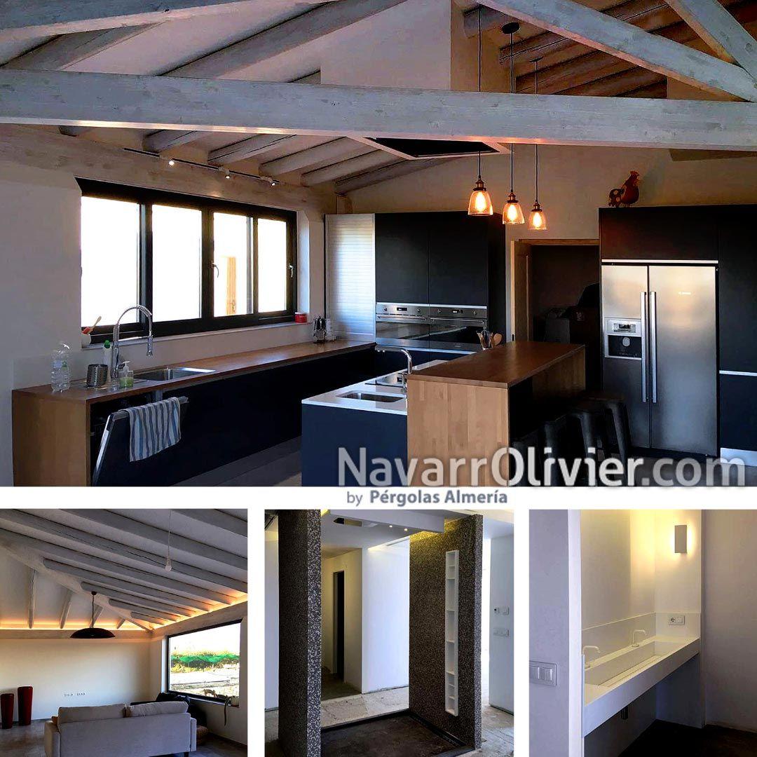 Reforma y decoraci n de loft en vera almer a estructura - Decoracion almeria ...