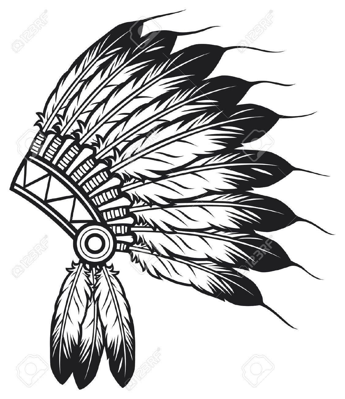 Indian Chief Headdress