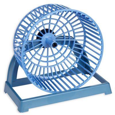 Van Ness Hamster Wheel With Stand Blue Hamster wheel