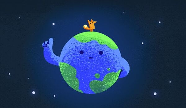 Google S Earth Day Doodle Sends An Urgent Message About Climate Change With Images Earth Day Tips Earth Day Google Doodles