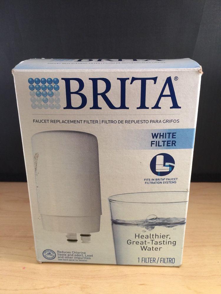 Brita Faucet Replacement Filter White 1 Filter Model FR-200 | Faucet ...