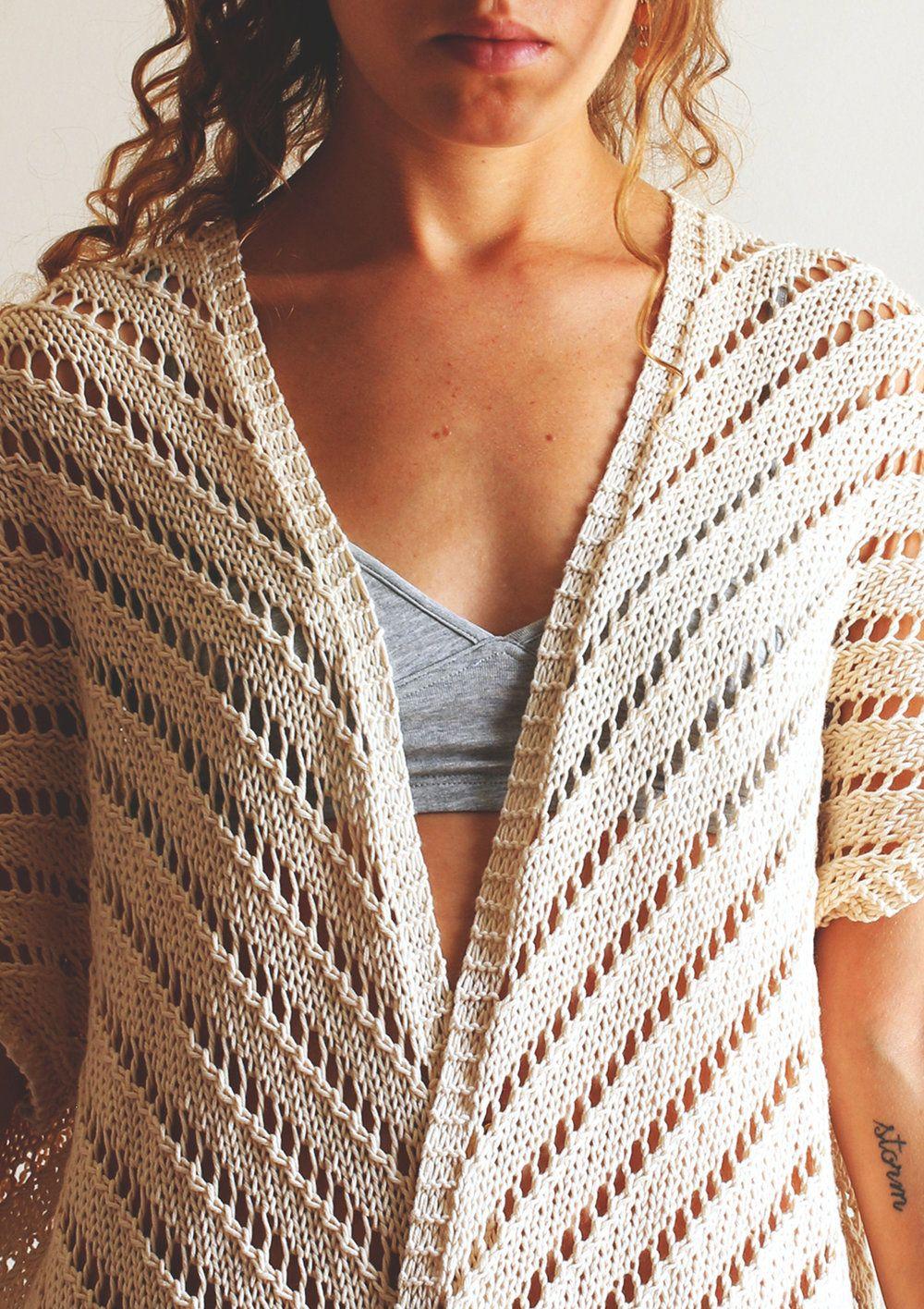 Summer kimono   Motif kimono, Modele tricot et Tricot