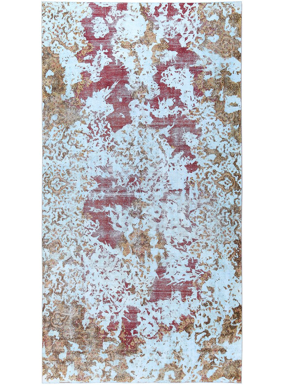 Amini Revive Special Carpet Light Blue Vintage Collection Vintage Collection Vintage Light