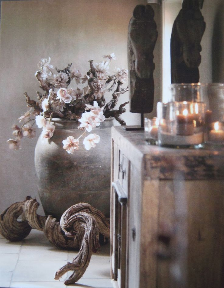 Grote pot/ vaas | ідеї | Pinterest | Rustic charm, Decoration and ...